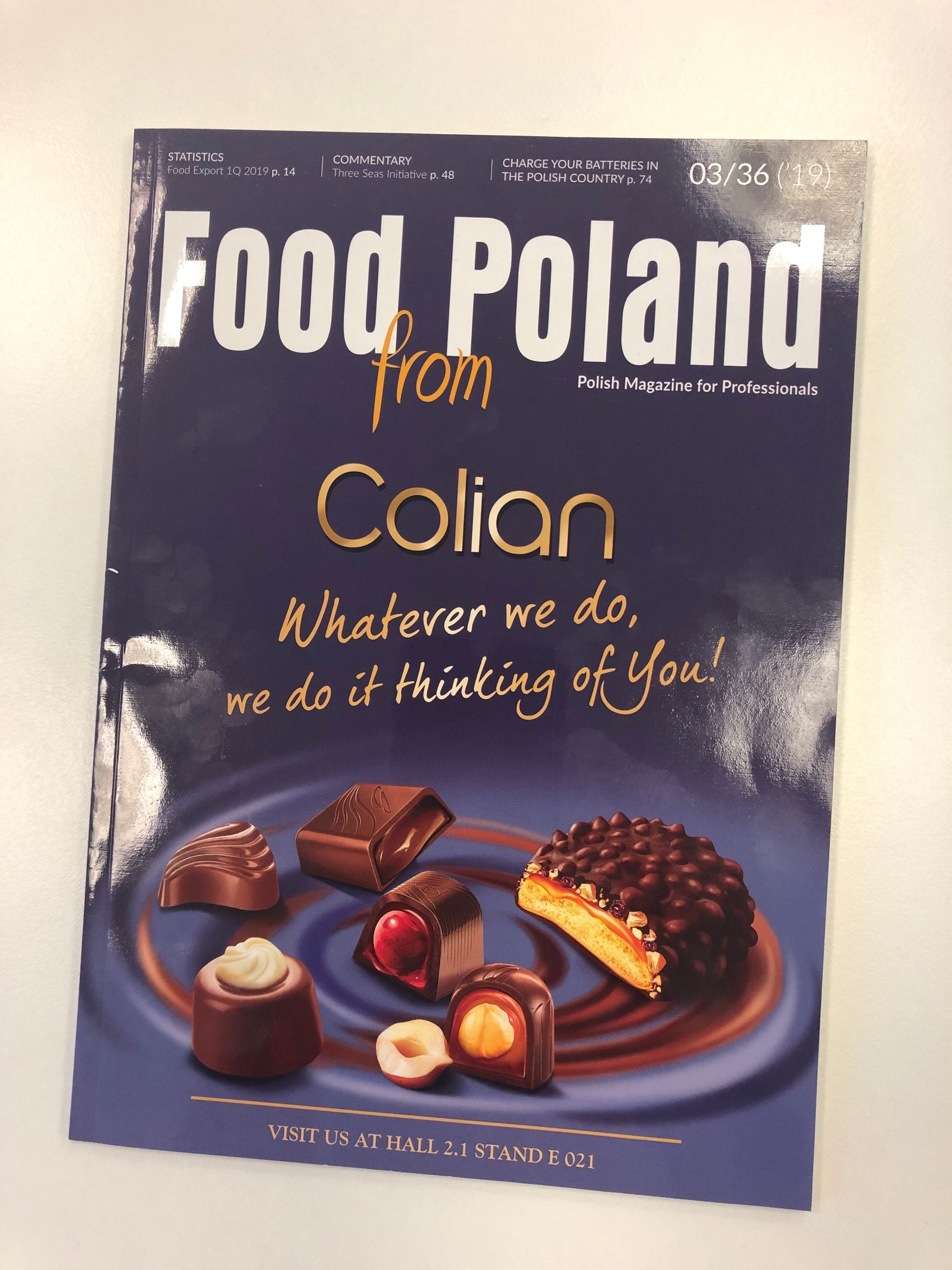 Food from Poland, edycja Anuga 2019